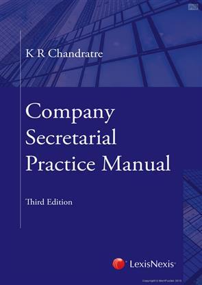 Company secretarial practice manual.