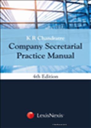 Lexisnexis's company secretarial practice manual [hb] by k. R.