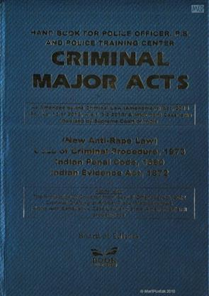 Criminal Major Acts 2018 - Buy Criminal Major Acts 2018 by