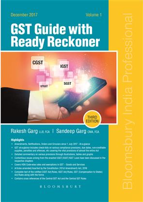 Gst guide with ready reckoner 2 vols by rakesh garg and for Interior decoration hsn code gst