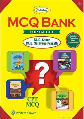 Padhuka's MCQ Bank For CA CPT By CA G Sekar CA B Saravana