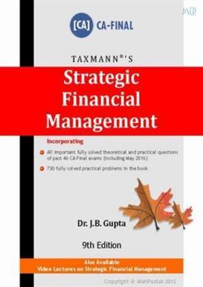 strategic financial management notes pdf