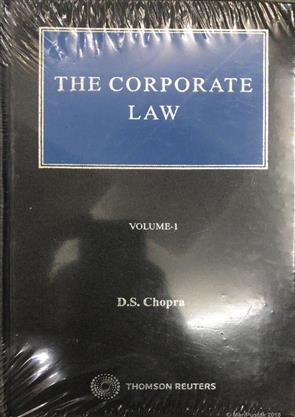 The Corporate Law, D S Chopra, 9789386374653