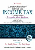 A Compendium of Issues on Income Tax A Complete Guide to Frequently Asked Questions