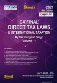 Capsule Studies on Direct Tax Laws & International Taxation May 2021 Exam