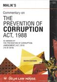 Commentary on the Prevention of Corruption Act, 1988