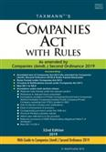 Companies Act with Rules (32nd Edition)