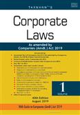 Corporate Laws As amended by Companies (Amdt ) Act 2019