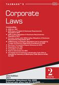 Corporate Laws Set of 2 volumes 43rd Edition