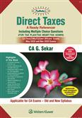 Direct Taxes A Ready Referencer including Multiple Choice Questions for CA Final May 2020 Exam
