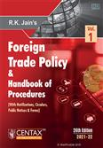 Foreign Trade Policy & Handbook of Procedures 2021-22