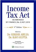 Income Tax Act As Amended by Finance (No.2) Act 2019