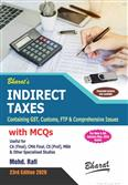 Indirect Taxes Containing GST Customs FTP & Comprehensive Issues with MCQs