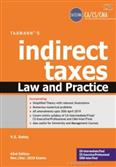 Indirect Taxes Law and Practice for Nov & Dec 2019 Exams