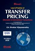 Law & Practice of Transfer Pricing Domestic & International Transactions