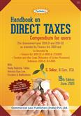 Padhuka's Handbook on Direct Taxes - Compendium for Users for AY 2020-21 and 2021-22