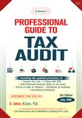 Padhuka Professional Guide to Tax Audit 5th Edition July 2020