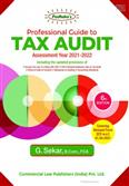 Padhuka Professional Guide to Tax Audit by G Sekar 6th Edition