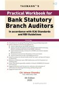 Practical Workbook for Bank Statutory Branch Auditors 4th Edition 2020