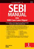 SEBI Manual with SEBI Case Laws Digest 35th Edition 2020