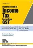 Students Guide to Income Tax Including GST 64th Edition 2021-22 for May 2021