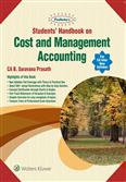 Students Handbook on Cost and Management Accounting (CA Inter) - (New Syllabus)