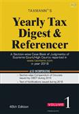 Yearly Tax Digest & Referencer